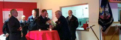 Helmut Röcher wurde für 60-jährige Mitgliedschaft geehrt.