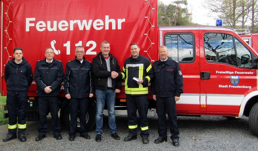 Bündnis 90 / Die Grünen gratulieren der Jugendfeuerwehr Freudenberg zu ihrem 25-jährigen Jubiläum