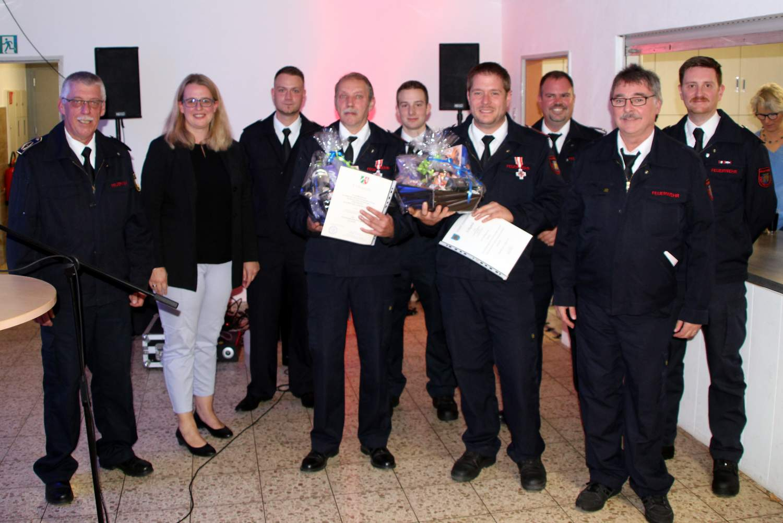 Herbstfeier der Freiwilligen Feuerwehr Alchen