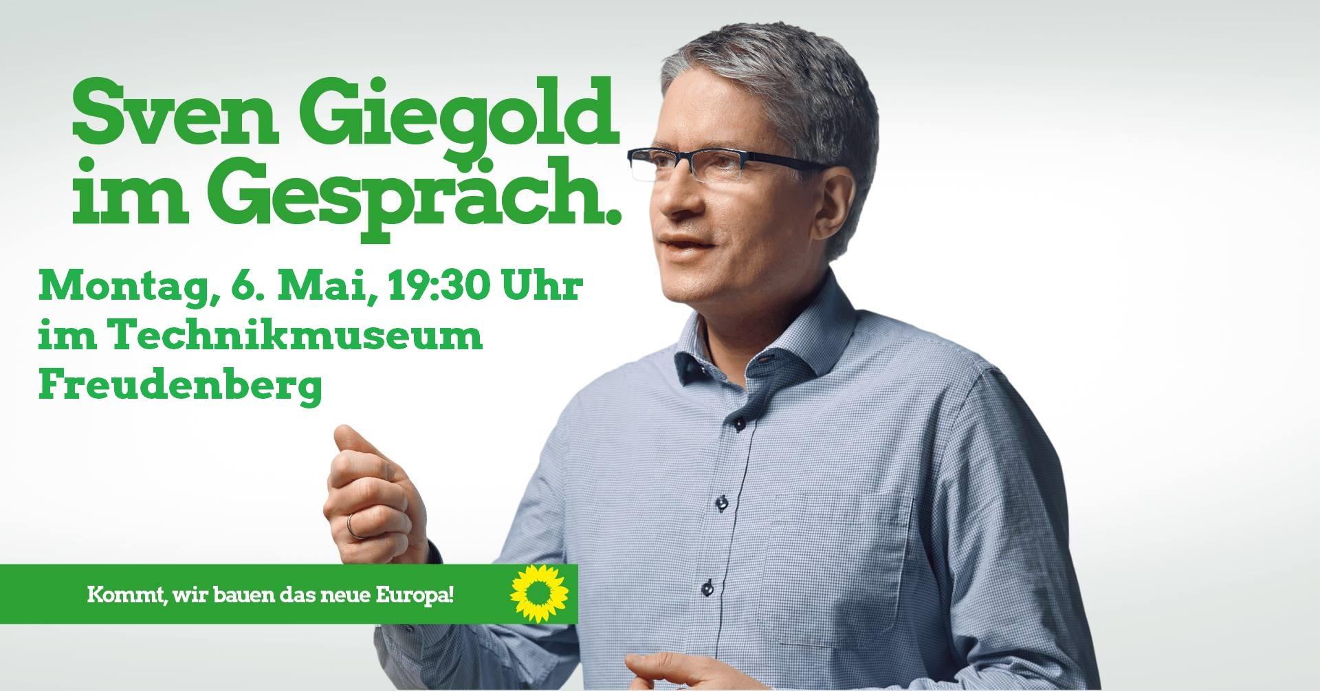 Sven Giegold in Freudenberg am 6.5.