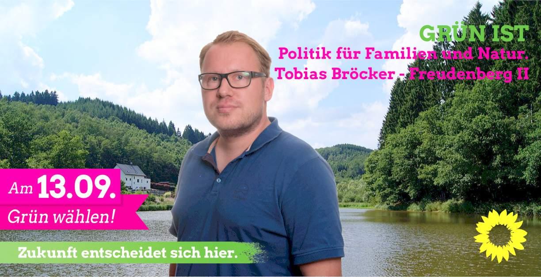 Tobias Bröcker – unser Kandidat für Freudenberg II