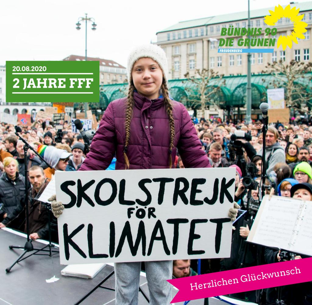 2 Jahre Fridays For Future