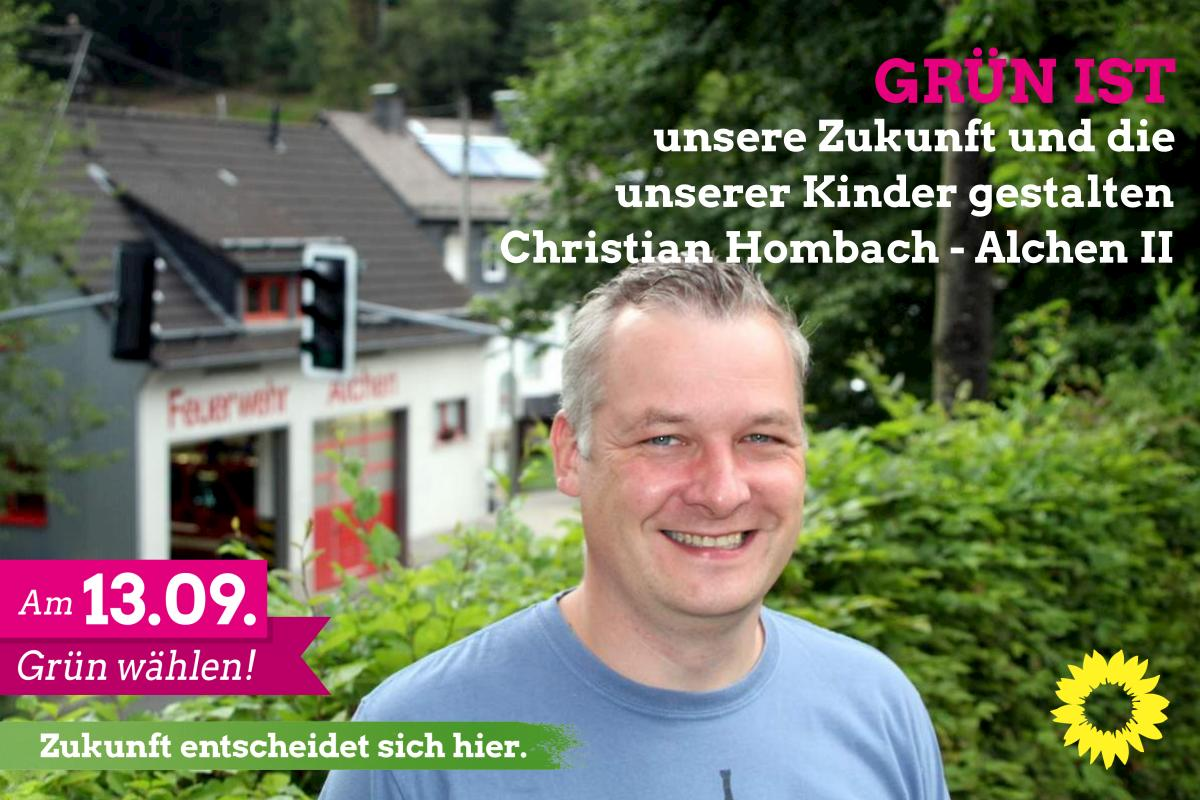 Christian Hombach – Kandidat für Alchen II