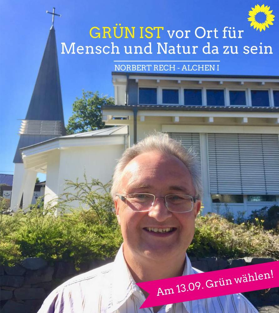 Norbert Rech – Kandidat für Alchen I
